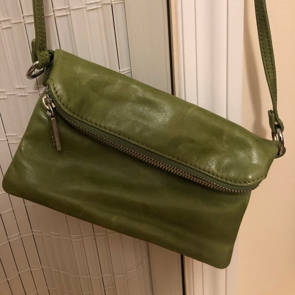 HOBO Handbags - Hobo International Green Crossbody Purse NWOT
